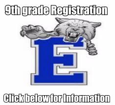 9th Grade Registration Forms and Information