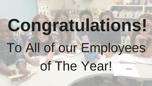 Congratulations to our ECS Employees of the Year