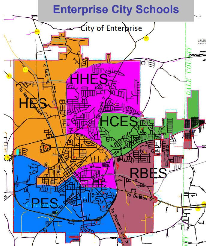 Updated Tuition Schedule and Zoning Maps